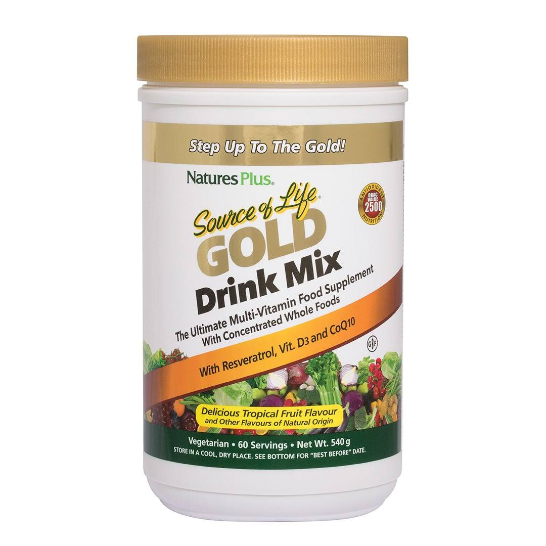 Nature's Plus Source of Life Gold Drink Mix - 1.2 lb - Powder