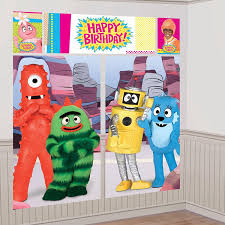 Halloween Scene Setters 2017 by Your Kids Will Love These Yo Gabba Gabba Party Supplies