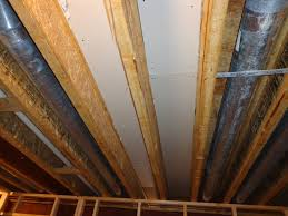 Hanging Drywall On Ceiling Joists by Kinetic River Cinema Page 3 Avs Forum Home Theater