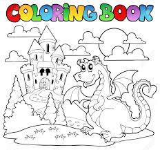 Impressive Dragon Coloring Book 37