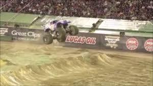 100 Monster Trucks In Mud Videos First Ever Truck Front Flip Truck Jam
