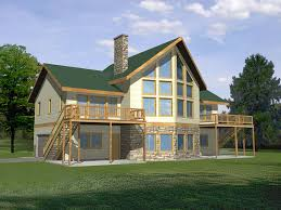 The Waterfront House Designs by Glenford Bay Waterfront Home Plan 088d 0128 House Plans And More