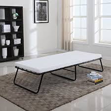 Amazon Foldaway Folding Bed Cot Memory Foam Divano Roma