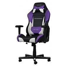 dxracer drifting gaming chair black white pu oh df61 nwv