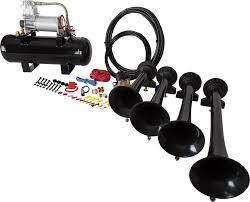 HornBlasters Conductor's Special 228V Train Horn Kit Tips On Where To Buy The Best Train Horn Kits Horns Information Truck Horn 12 And 24 Volt 2 Trumpet Air Loudest Kleinn 142db Air Compressor Kit230 Kit Kleinn Velo230 Fits 09 Hornblasters Hkc3228v Outlaw 228v Chrome 150db Air Horn Triple Tubes Loud Black For Car Universal 125db 12v Silver Trumpet Musical Dixie Duke Hazzard Trucks 155db 200psi Viair System Conductors Special How Install Bolton On A 2010 Silverado Ram1500230 Ram 1500 230 With 150psi Airchime K5 540
