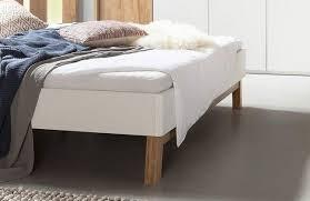 bettanlage cepina nolte weiß holz planked oak 180 x 200 cm