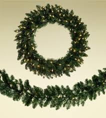 realistic 6 ft 9 ft artificial christmas garlands prelit