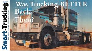 Was Trucking BETTER Back Then? - YouTube Cadian Trucking Outdistances Usa Emsi Txdot Research Library Cost Of Cgestion To The Industry Revenue Topped 700 Billion In 2017 Ata Report Americas Foodtruck Industry Is Growing Rapidly Despite Roadblocks How Eld Mandate Affected Visually The Atlanta Information 13 Solid Stats About Driving A Semitruck For Living Future Uberatg Medium Interesting Facts About Truck Every Otr And Cdl Trends 2018 Cr England Transportation Canada 2016 Transport