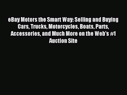 Read EBay Motors The Smart Way: Selling And Buying Cars Trucks ... Ebay Motors Drag Racing Cars For Sale 10 To Satisfy Your Inner Steve Mcqueens 1941 Chevy Pickup Is Up For On Ebay Collector Trucks Ford F 150 1978 2019 20 Top Upcoming Luxury Ratrod Crazy Sterling L7500 Lease New Used Results 138 Sideboard Login Facebook Motorcycles Japanese Mini Truck Cargo Delivery Van 2001 Mitsubishi Minicab Townbox Motors Uk Classic Car Parts Persianas De Ventanas Download The Smart Way Selling And Buying 164 Greenlight Allan Moffat Racing F350 Ra In Toys Chevrolet Pickup Orange 230984359158
