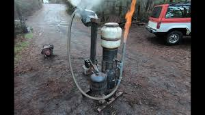 100 Wood Gasifier Truck Using To Fuel A Generator How To Build A