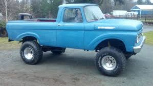 1961 Ford F100 Unibody 4x4 For Sale In Monroe, Washington, United States