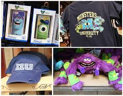 Disney Store Scares Up An by Monsters University Merchandise Scares Up Fun At Disney Parks