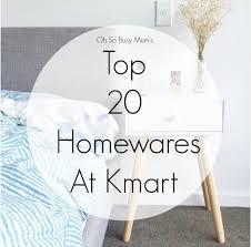 Christmas Trees Kmart Au by Oh So Busy Mum U0027s Top 20 Homewares At Kmart Australia Copper Geo