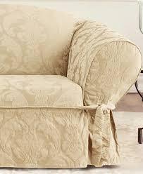 Sure Fit Sofa Cover 3 Piece by Damask Sofa Slipcover Centerfieldbar Com