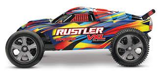 100 Stadium Truck Rustler VXL RTR 110 Scale Brushless TRA370764