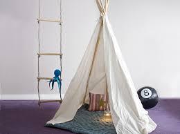 cabane dans la chambre créer une cabane dans une chambre d enfant décoration