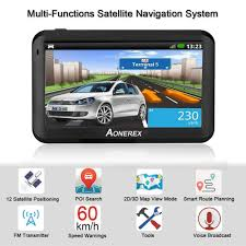 100 Gps Truck Route US 3658 33 OFFGPS Navigation 5 Inch LCD Screen Navigation Device Satellite GPS Explorer 256BM8G Truck Navigator Latest Russia Mapin Vehicle GPS