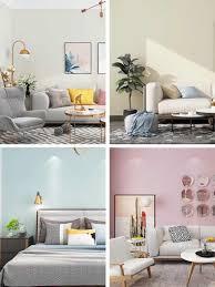 1m günstige wand papers home decor solide warme muster tapete rolle für wohnzimmer schlafzimmer wände dekoration grau weiß blau rosa