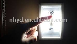 factory price wireless light wall switch cob led light