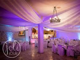 location voilages blancs decoration plafond mariage st denis