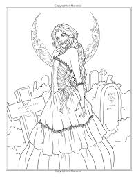 Fairy Adult Coloring Page Source Amazon