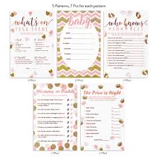 Mommy Or Daddy Guess Who Game Set Of 50 Cards Baby Shower Game And Activity Fun Unique And Easy To Play
