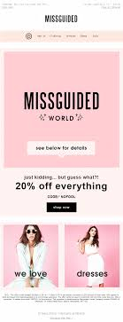 Coming Soon - Missguided World! April Fool's Day 2016 Email ... Miss A Coupon Code The Aquarium In Chicago Dresslink Promo Codes October 2019 Findercom Missguidedus Com Ocado Money Off First Order Another Clothing Haulhell Yes With Discount Code Missguided Styles Love Island Ad Singtel Disney On Ice Madewell Discount Womens Fashion Vouchers And Discount Codes Blanqi Lugz Whlist Email From Missguided With Product Recommendations Personalized Birthday Everything But Water 2018 Pizza Hut