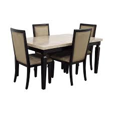 Raymour And Flanigan Kitchen Dinette Sets by 49 Off Raymour U0026 Flanigan Raymour U0026 Flanigan Rogue Marble