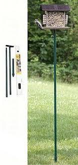Bird Feeder Pole Systems Brackets and Accessories from Wild Birds
