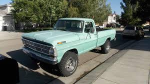 1969 Ford F250 4 X 4 California Truck 360 V-8 4-spd Trans 2 Owner ...