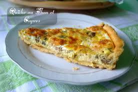 cuisine samira tv quiche au thon et capres amour de cuisine