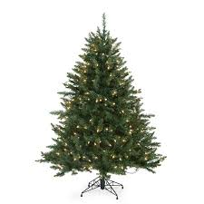 Pre Lit Porch Christmas Trees by Amazon Com Classic Tabletop Pre Lit Christmas Tree 4 5 Ft Home