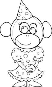 Birthday Hat Coloring Page Free Pages For Printable
