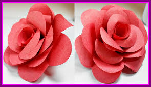 Flower Images Easy Awesome Paper Rose Diy For Children Origami Pics Of