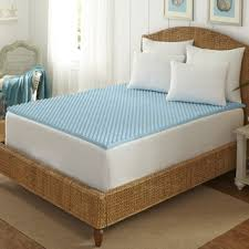 Cooling Bed Topper by Arctic Sleep Cool Blue 1 5 Inch Memory Foam Twin Size Mattress