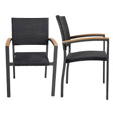 Doprticus Patio Rattan Stackable Dining Chairs With Armrest, Indoor -  Outdoor Use Set Of 2 9363 China 2017 New Style Black Color Outdoor Rattan Ding Outdoor Ding Chair Wicked Hbsch Rattan Chair W Armrest Cushion With Cover For Bohobistro Ica White Huma Armchair Expormim White Open Weave Teak Suma With Arms Natural Hot Item Rio Modern Comfortable Patio Hand Woven Sidney Bistro Synthetic Fniture Set Of Eight Chairs By Brge Mogsen At 1stdibs Wicker Derektime Design Great Ideas Warm Rest Nature