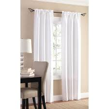 Walmart Mainstay Sheer Curtains by Mainstays Sailcloth Curtain Panel Set Of 2 Walmart Com