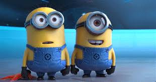 Despicable Me 2 Minions Laughing At Bottom Gif