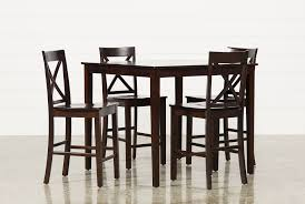 Value City Furniture Kitchen Table Chairs by Pierce 5 Piece Counter Set Living Spaces