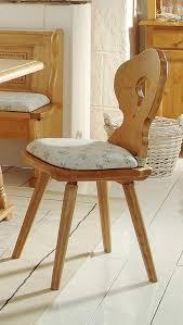 stuhl bozen esszimmerstuhl im landhausstil fichte massivholz lackiert