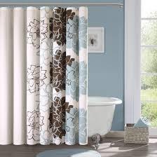 Blue Shower Curtain — Databreach Design Home Cool Ideas Blue