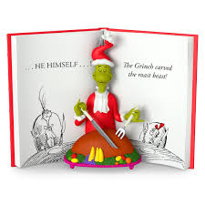 The Grinch Christmas Tree by 2016 The Grinch Carved The Roast Beast Hallmark Keepsake Ornament
