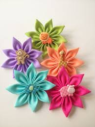 Paper Ribbon Flower