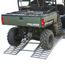 100 Truck Loading Ramps Aluminum Arched TriFold UTV Trailer Ramp 55 Long Discount