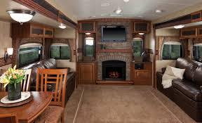 Eagle Travel Trailer 328RLTS Main Interior