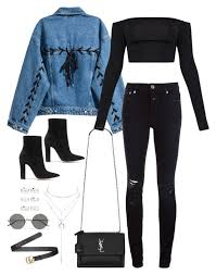 Sem Titulo 5196 By Fashionnfacts Liked On Polyvore Featuring Closed Yves Rock OutfitsWinter