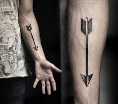 Arrow Forearm Tattoo