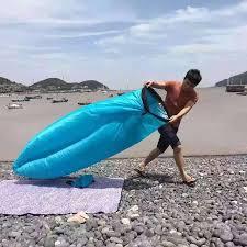 canap hamac plage portable en plein air gonflable os meubles canapé hamac sac de
