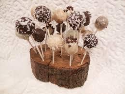 Cake Pop Stand Oak Tree Rustic Charm Etsy TheGypsybird