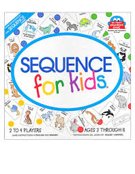 Jax Sequence Kids Board Game
